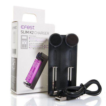 Carregador  Efest Slim K2