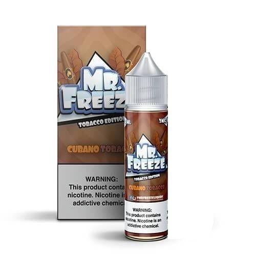 Juice Mr. Freeze Tobacco Cubano