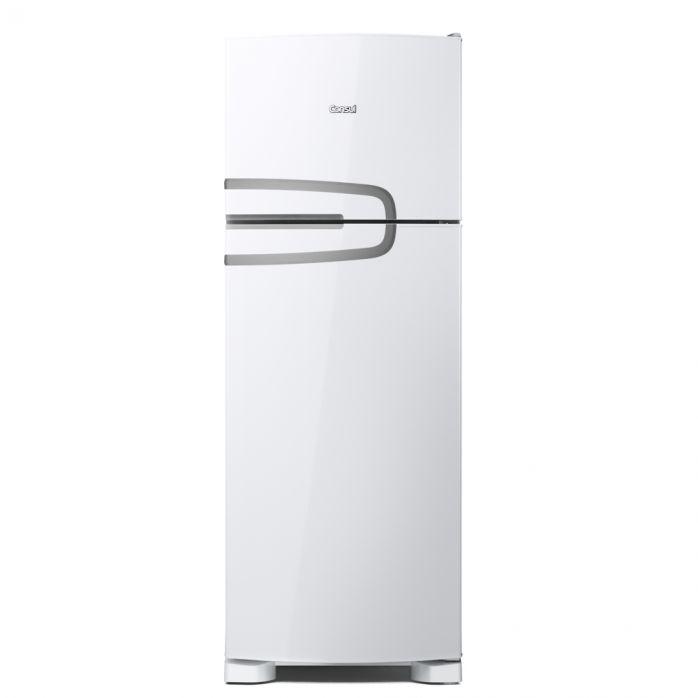 Geladeira Consul Frost Free Duplex 340 litros Branca com Prateleiras Altura Flex [CRM39AB]