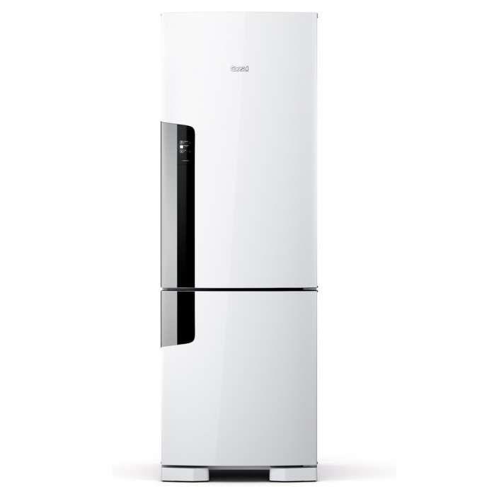 Geladeira Consul Frost Free Duplex 397 litros Branca com freezer embaixo [CRE44AB]