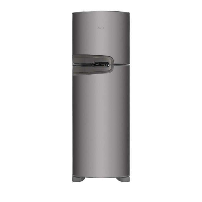 Geladeira Consul Frost Free Duplex 386 litros cor Inox com Prateleira Dobrável [CRM43NK]