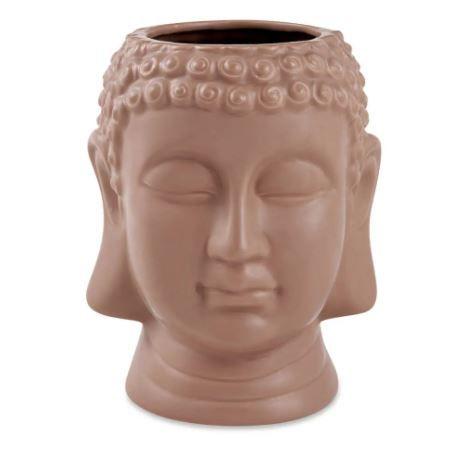 Buda Terracota Mart Em Ceramica - 21,5 X 17,5 X 19 Cm