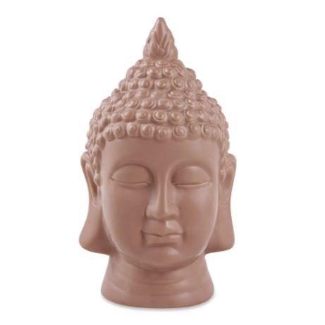 Buda Terracota Mart Em Ceramica - 23 X 13,5 X 14,5 Cm