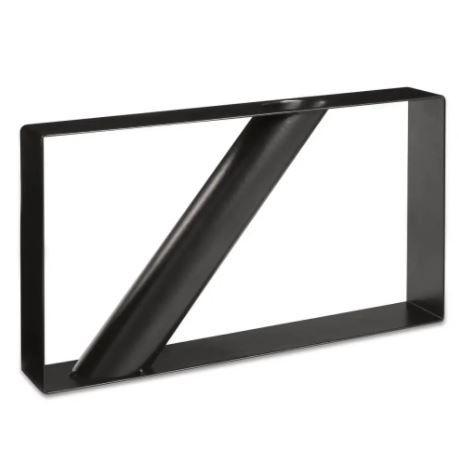 Vaso Geometrico Mart Em Metal 15x28x4cm
