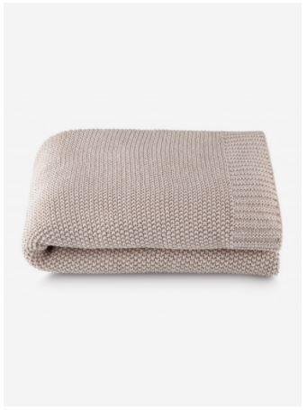 Manta Tricô By The Bed 100% Algodão - 125x150 Cm - Fendi - Loom