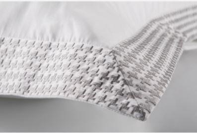 Capa De Edredom Duvet King Bordado By The Bed 300 Fios 100% Algodão 3 Peças - Brick