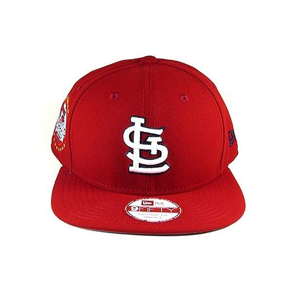 Boné New Era snapback St. Louis Cardinals Tribute Turn 11x World Series Champs