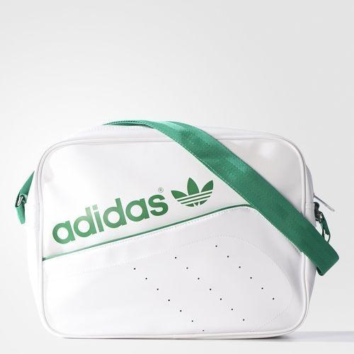 Bolsa Adidas Bolsa Airliner Perf - Branco