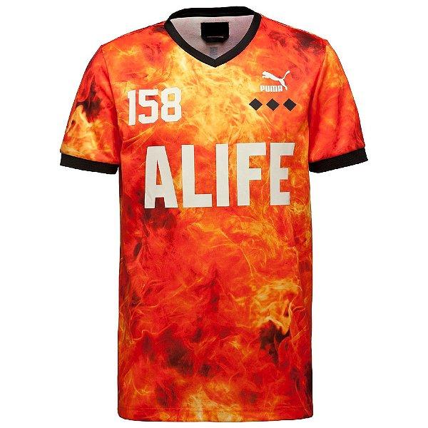 Camiseta Puma Alife Soccer Tee Granadine