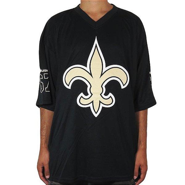 Camiseta New Era Especial Jersey Saints-Preta