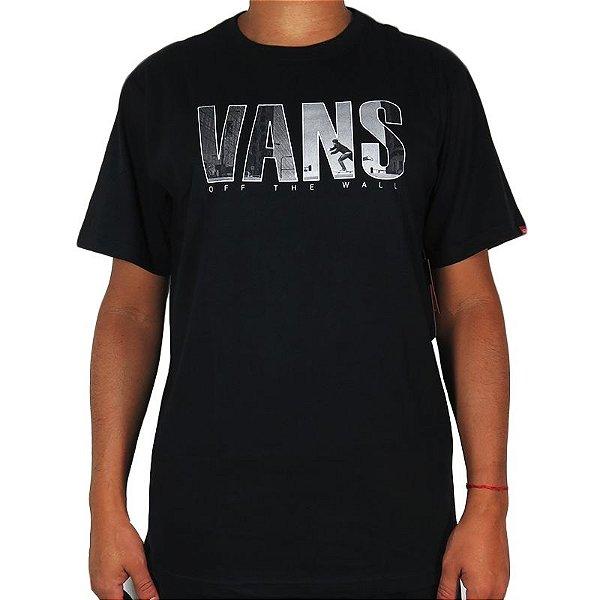 Camiseta Vans - Pus Black