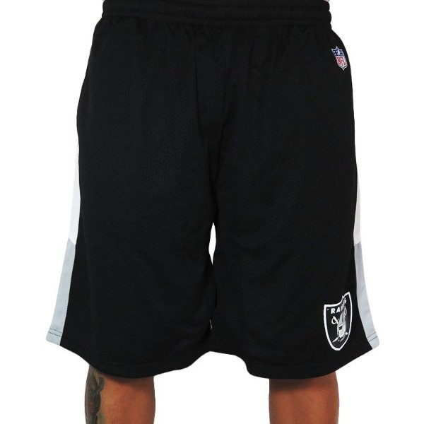 Bermuda New Era NFL Oakland Raiders-Preto