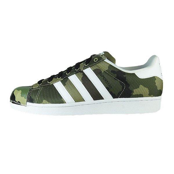Tênis Adidas Superstar Shell Toe Pack-Camo
