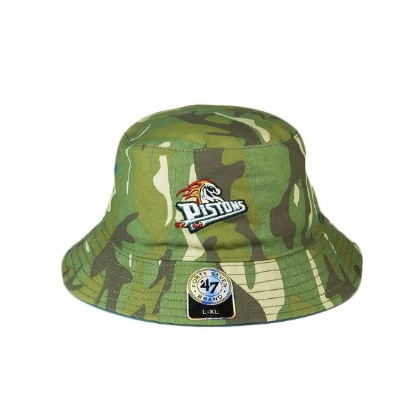 Bucket Hats 47 Brand Pistons-Camuflado