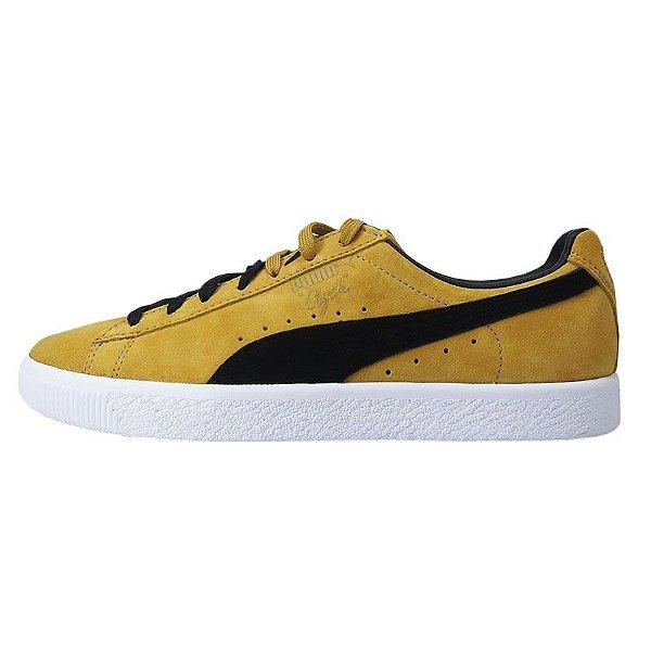 Tênis Puma Clyde O.g Flag -Bright Gold