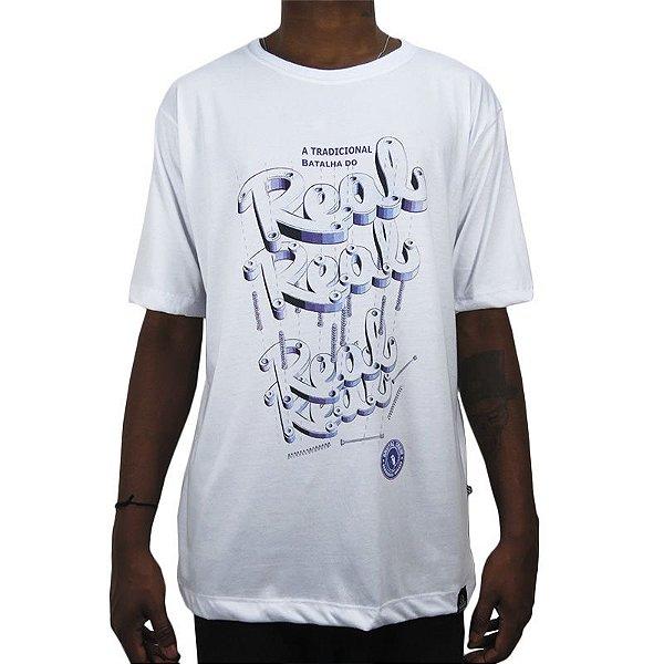 Camiseta Outlawz x Bdr Collab Real-Branca