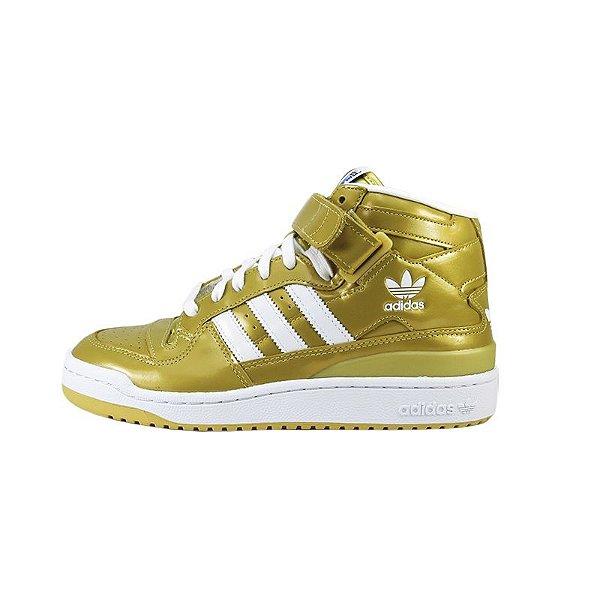 Tênis Adidas Forum Mid Rs Nigo-Gold