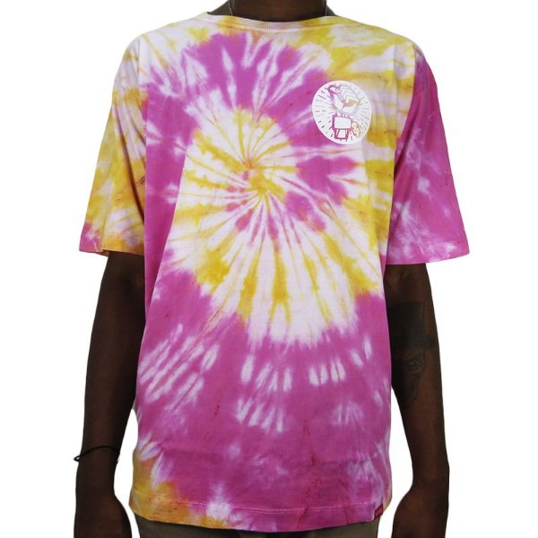 Camiseta Outlawz Tie Dye Do It Your Self-Yellow/Pink