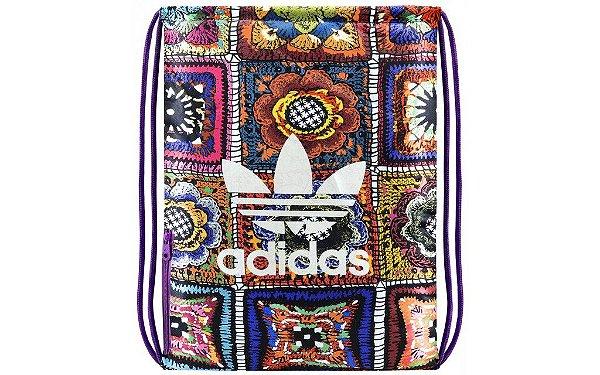 Bolsa Adidas x Farm Crochita Gymsack