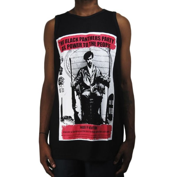 Regata Outlawz Black Panthers Collection Huey-Preta