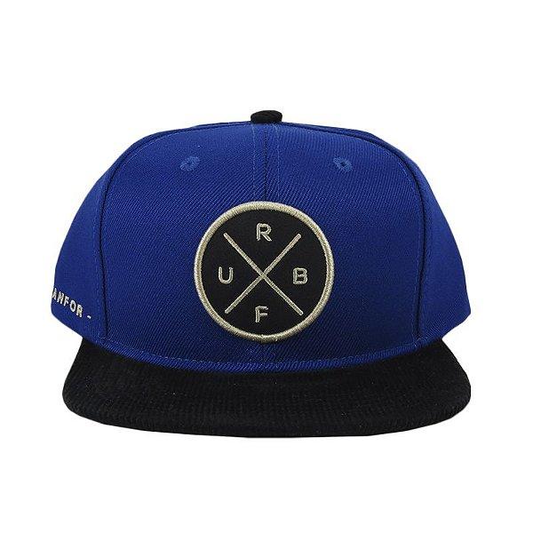 Boné Urbanfor Snapback x - Azul