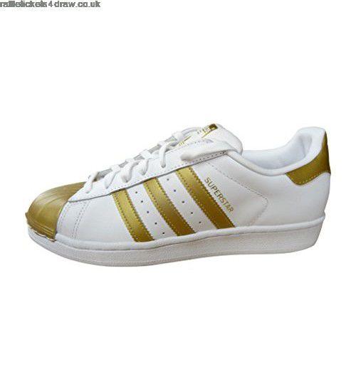 Tênis Adidas Superstar Metallic Pack-Gold