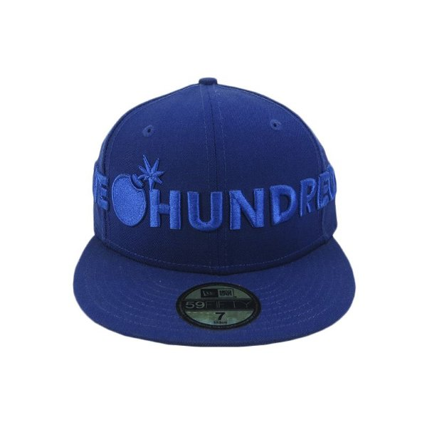 Boné The hundreds x New Era Collab Fechado-Azul