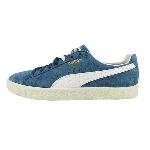 Tênis Puma Clyde Premium Core-Harbor Blue