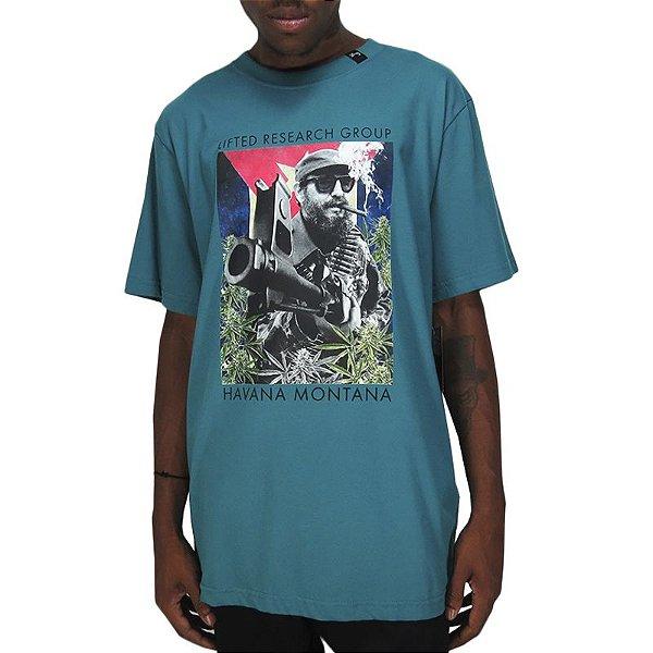 Camiseta LRG Lifted Research Group-Verde Jade