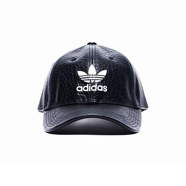 Boné Adidas Aba Curva Black Noir Deluxe