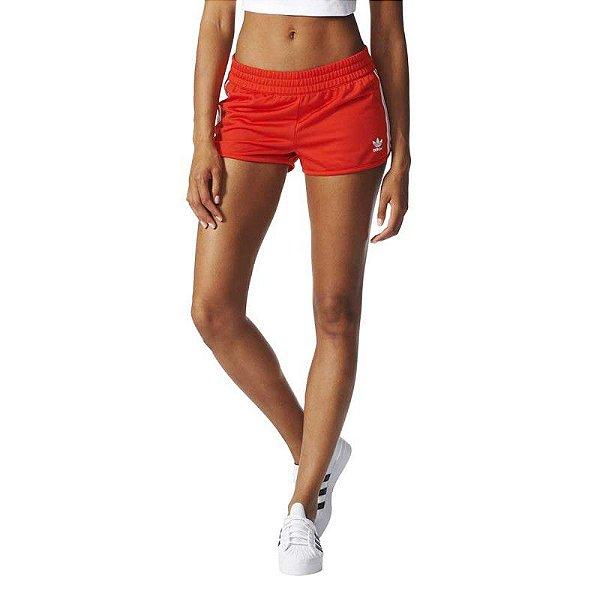 Short Adidas Regular-Vermelho