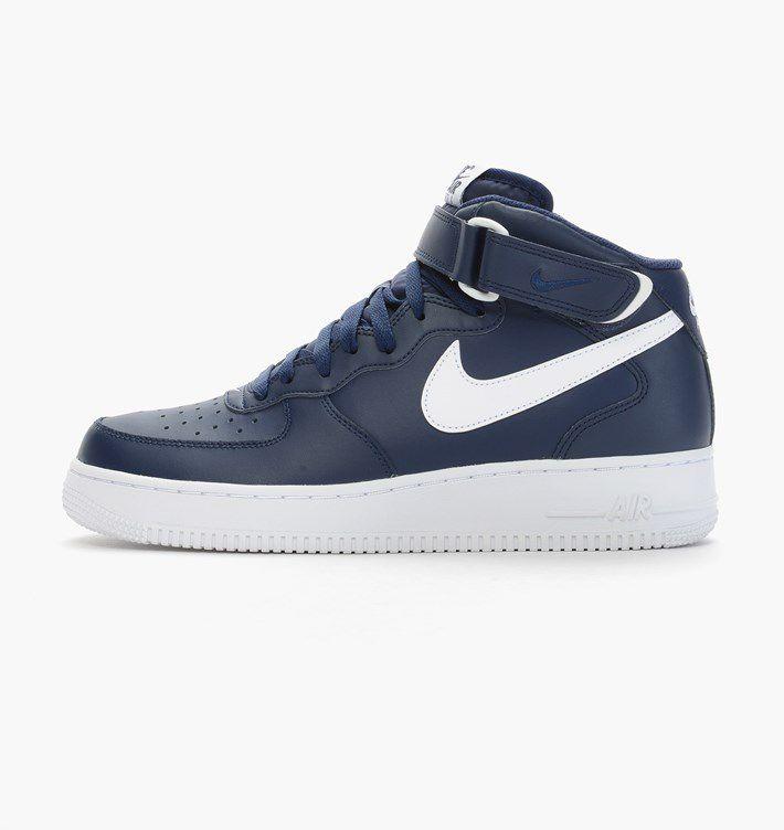 Tênis Nike Air Force 1 Mid ´07 - Azul Marinho