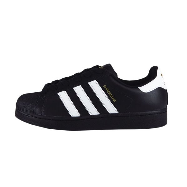 Tênis Adidas Superstar Foundation-Preto/Branco