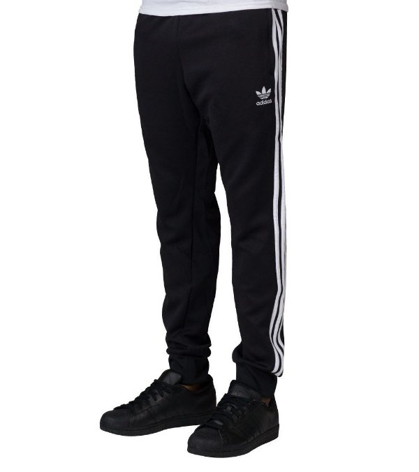 Calça Adidas Originals SST Cuffed TP - Preto