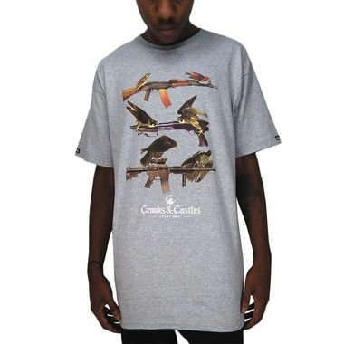 Camiseta Crooks & Castles-Birds Of Prey