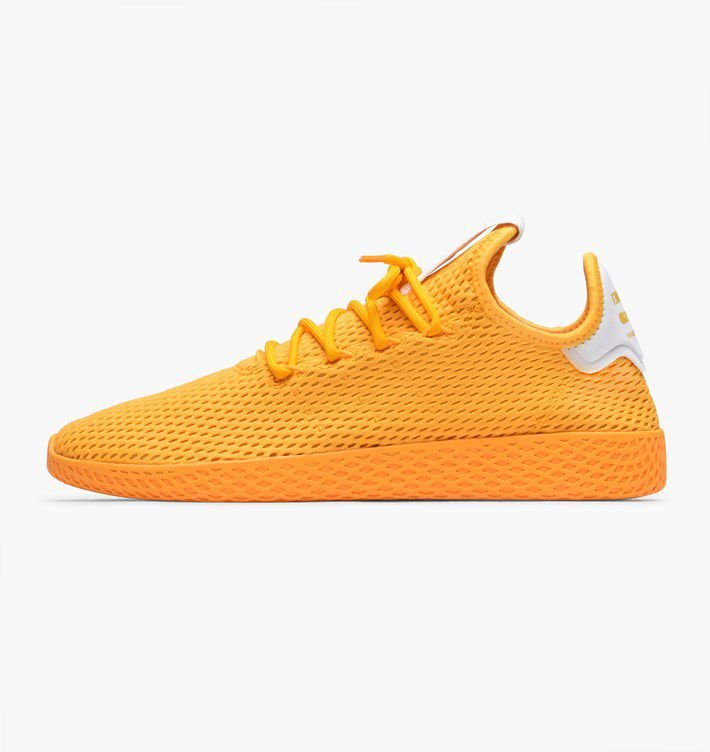 Tênis Adidas Pharrell Williams HU - Amarelo