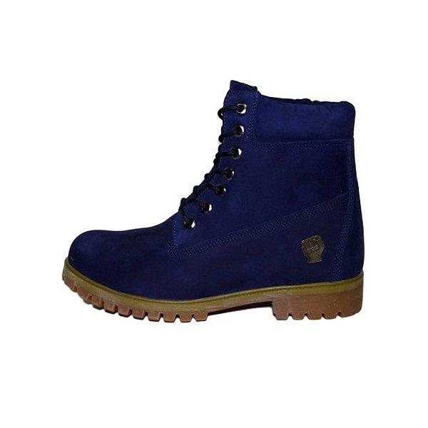 Bota Slum Brand Gold-Royal Blue