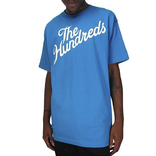 Camiseta The Hundreds Forever Slant T - Turquoise