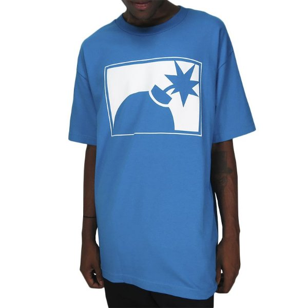 Camiseta The Hundreds Forever Halfbomb - Turquoise