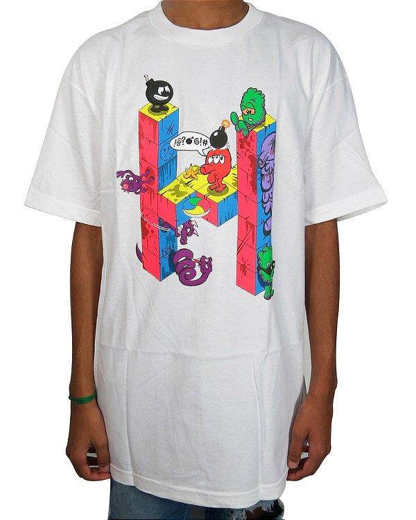 Camiseta The Hundreds Cube T-Branca