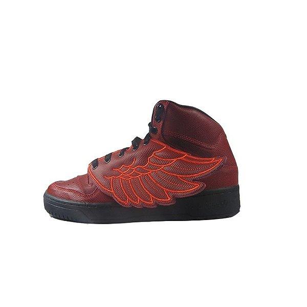 Tênis Adidas X Jeremy Scott Wings Basketball-Laranja