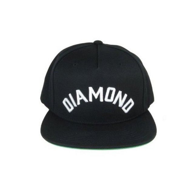Boné Diamond Supply Co. - Arch - Snapback (Black)