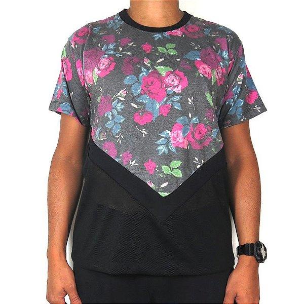 Camiseta Outlawz Visionary-Flowers Rhude