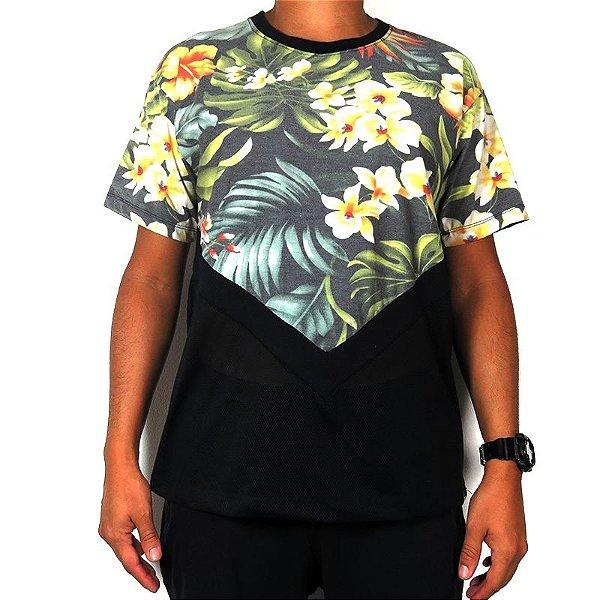 Camiseta Outlawz Visionary-Flowers Mix