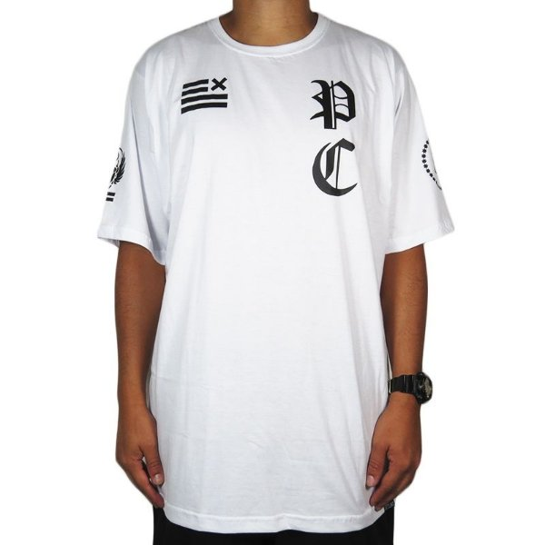 Camiseta Outlawz Primal Concept-Branca