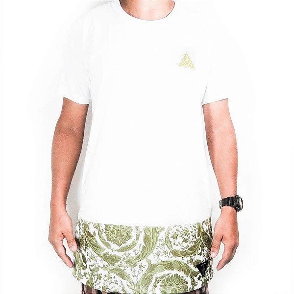 Camiseta Over Sized Outlawz Baroc gold-Branca