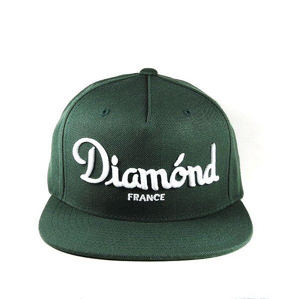 Boné Diamond Supply Snapback France