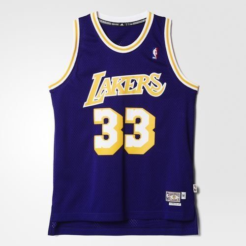 Regata Adidas Retired Nba Lakers Kareem Abdul Jabbar-Purple/Yellow