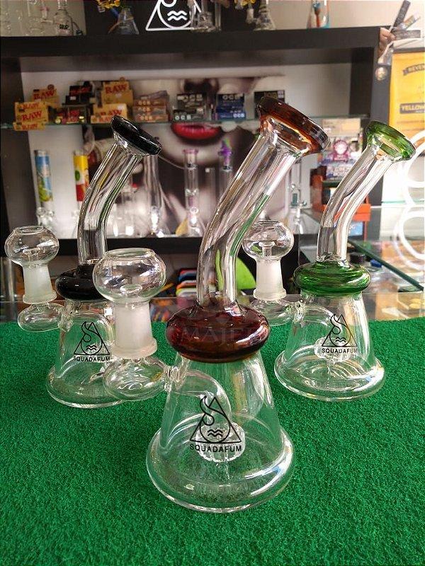 BONG SQUADAFUM GLASS PERCOLATOR DAB