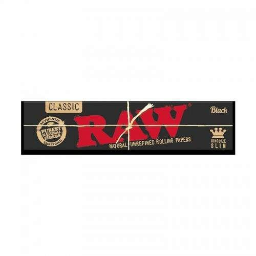 SEDA RAW CLASSIC BLACK KING SIZE SLIM (UN)